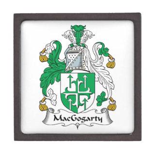 MacGogarty Family Crest Premium Jewelry Boxes