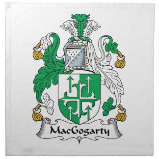 MacGogarty Family Crest Printed Napkin