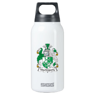 MacGogarty Family Crest 10 Oz Insulated SIGG Thermos Water Bottle
