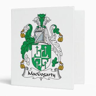MacGogarty Family Crest Vinyl Binder