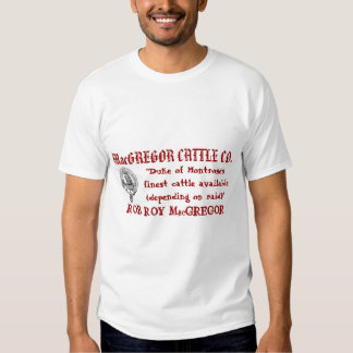 MacGREGOR CATTLE CO T-Shirt