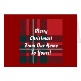 MacGregor Christmas Card