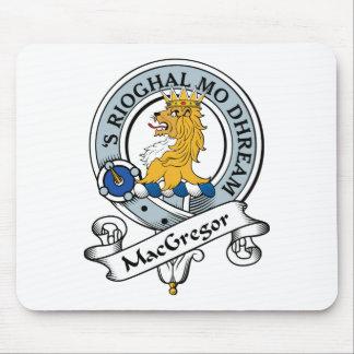 MacGregor Clan Badge Mouse Pad