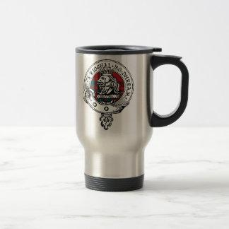 MacGregor Clan Badge (Please Edit Name) 15 Oz Stainless Steel Travel Mug