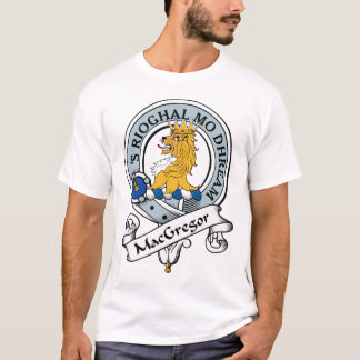 MacGregor Clan Badge T-Shirt