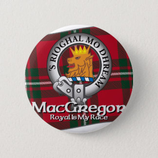 MacGregor Clan Pinback Button