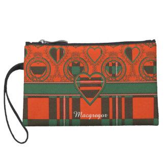 Macgregor clan Plaid Scottish tartan Wristlet