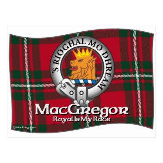 MacGregor Clan Postcard