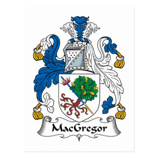 MacGregor Family Crest Postcard