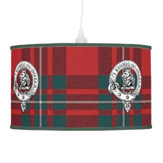 MacGregor Lamp Clan Badge sm. and Tartan
