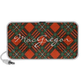 MacGregor Scottish Tartan iPod Speakers
