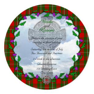 Scottish Wedding Invitations Announcements Zazzle