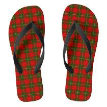 MacGregor Tartan Flip Flops