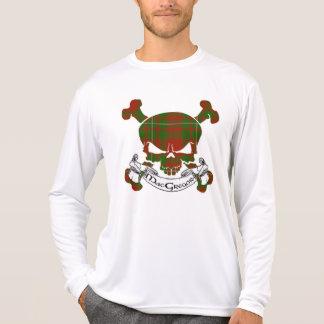 MacGregor Tartan Skull Tshirt