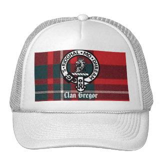 MacGregorPlaid, Gregor Badge, Clan Gregor Trucker Hat