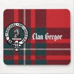 MacGregorPlaid, insignia de Gregor, clan Gregor Tapete De Ratón