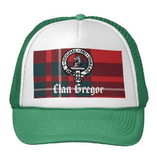 MacGregorRed1, Gregor Badge, Clan Gregor Trucker Hat