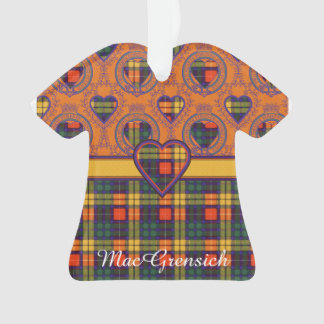 MacGrensich clan Plaid Scottish kilt tartan