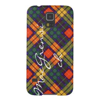 MacGrensich clan Plaid Scottish kilt tartan Galaxy S5 Cover