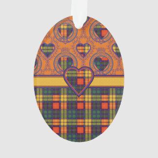 MacGrensich clan Plaid Scottish kilt tartan Ornament