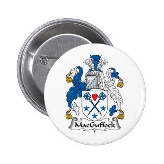 MacGuffock Family Crest Button