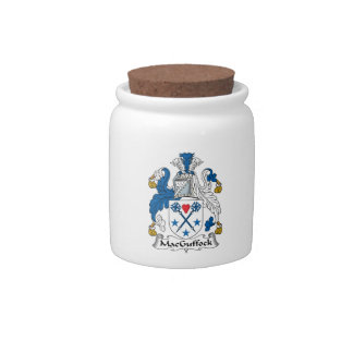 MacGuffock Family Crest Candy Jars