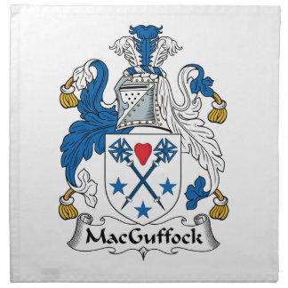 MacGuffock Family Crest Cloth Napkins