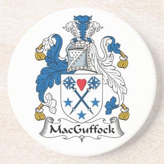 MacGuffock Family Crest Coaster