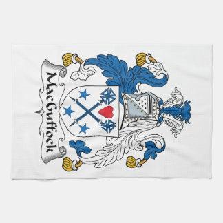 MacGuffock Family Crest Hand Towel