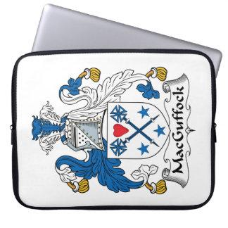 MacGuffock Family Crest Laptop Computer Sleeve