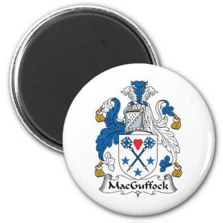 MacGuffock Family Crest Magnet