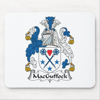 MacGuffock Family Crest Mouse Pads