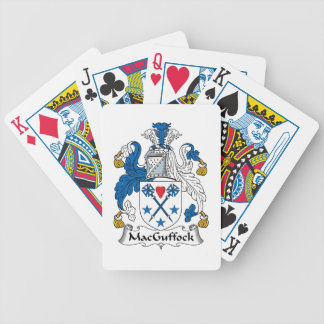 MacGuffock Family Crest Poker Cards