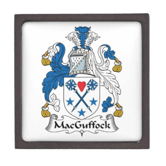MacGuffock Family Crest Premium Gift Boxes