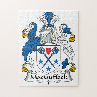 MacGuffock Family Crest Puzzle