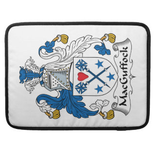 MacGuffock Family Crest Sleeve For MacBooks