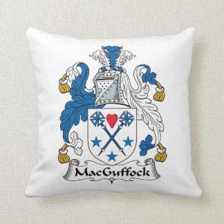 MacGuffock Family Crest Throw Pillows