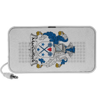 MacGuffock Family Crest Travel Speakers