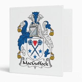 MacGuffock Family Crest Vinyl Binder