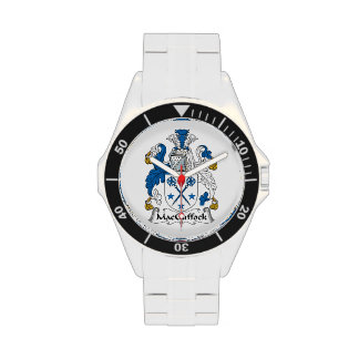 MacGuffock Family Crest Wristwatches