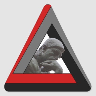 MacGyvers Co. Pegatina Triangular