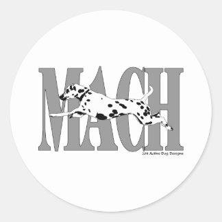 MACH Dal Stickers
