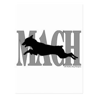 MACH MinPin Postcard