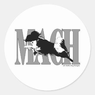 MACH Papillion Etiquetas Redondas