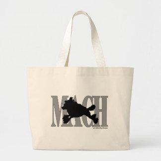 MACH Poodle Canvas Bags