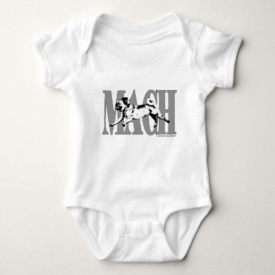 MACH Pug2 Baby Bodysuit