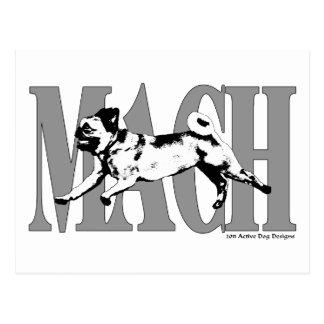 MACH Pug2 Postcard