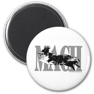 MACH Sheltie 2 Inch Round Magnet