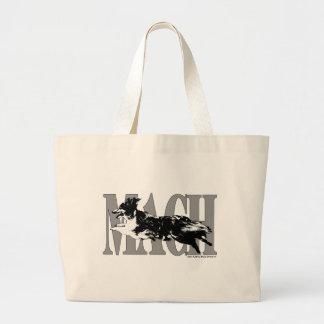 MACH Sheltie Large Tote Bag
