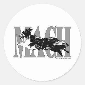 MACH Sheltie Pegatina